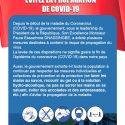Mesure préventive contre le Corona Virus COVID-19